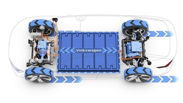 PROPULSIÓN. Cuenta con dos motores eléctricos que rinden 225KW (150 el de eje trasero y 75 el del delantero) es decir, 306 caballos de fuerza. (Mundo Maipú)