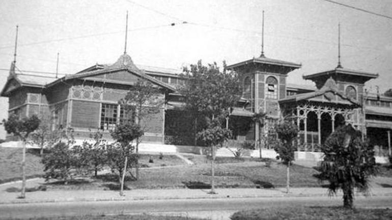 Pabellón de las Industrias en el año 1938 / Foto de Agencia Córdoba Cultura.