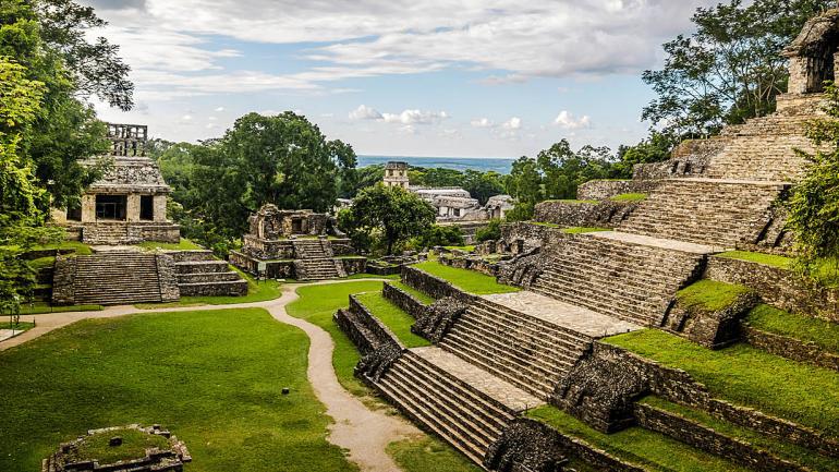 Palenque destino imperdible, declarado Patrimonio de la Humanidad por la UNESCO en 1987. (Interturis)