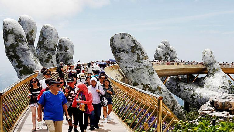 El paisaje y la peculiaridad de su sistema de soporte, atrae a turistas de todads las latitudes. (Grupo Edisur)