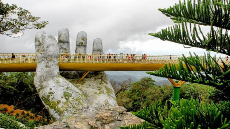 El diseño del puente estuvo a cargo del despacho TA Landscape Architecture en la ciudad de Ho Chi Min. (Grupo Edisur)