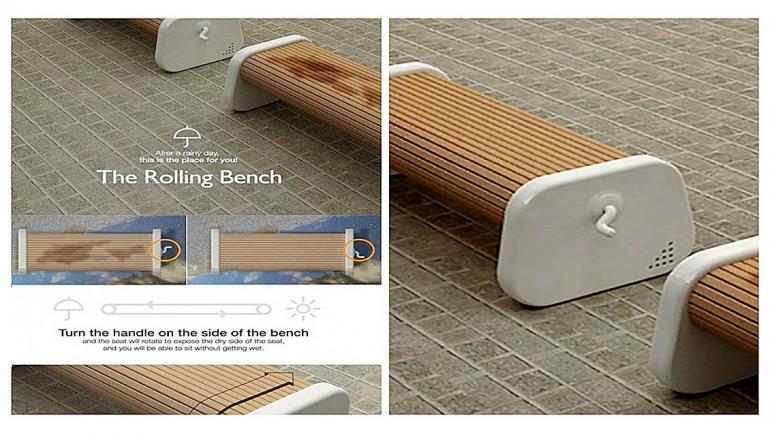 Rolling bench Flickr Jair Martínez. (Grupo Edisur)