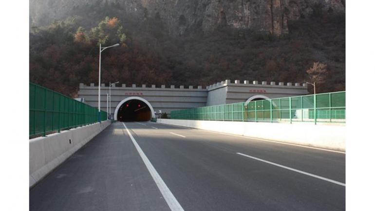 TÚNEL DE HONGTIGUAN. Tiene una extensión de 13,12 kilómetros, en China, fue inaugurado en 2013. (Mundo Maipú)