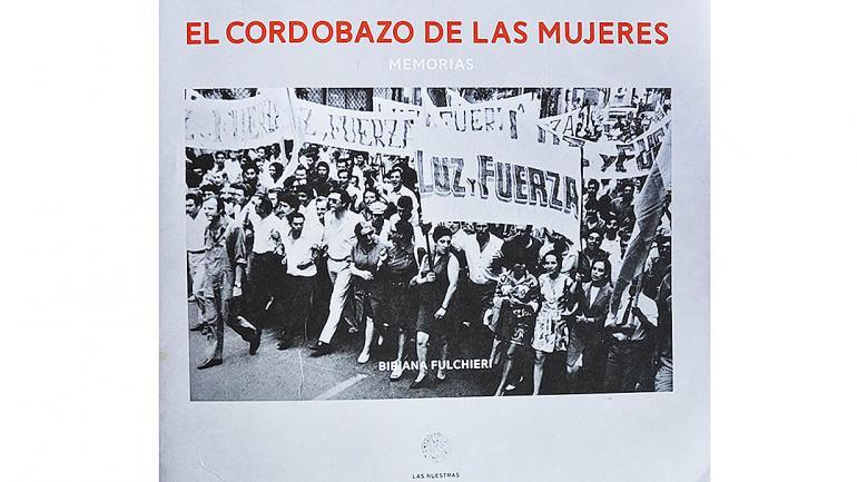 Tapa del nuevo libro de Editorial Las Nuestras. (Agencia Córdoba Cultura)