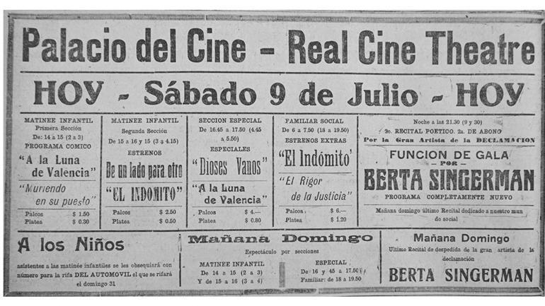 La inauguraci n del palacio del cine noticias al for Picor en el interior del ano