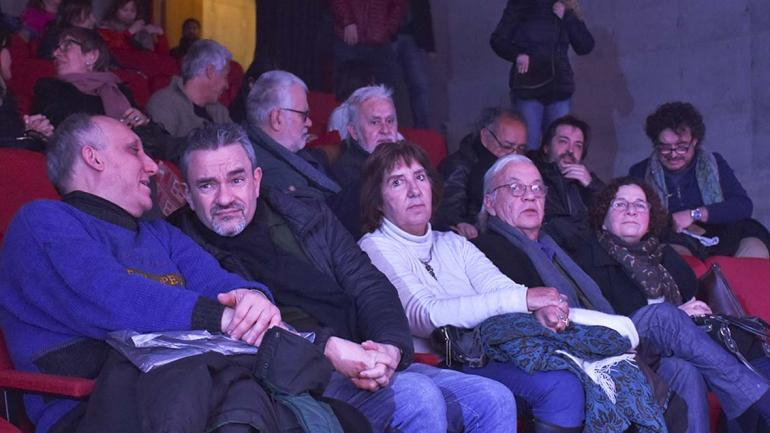 Un grupo de poetas en la presentación de la Antología. (Agencia Córdoba Cultura)