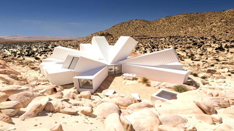 El diseño de Joshua Tree Residence de Whitaker Studio, se destaca por su belleza y originalidad. (Grupo Edisur)