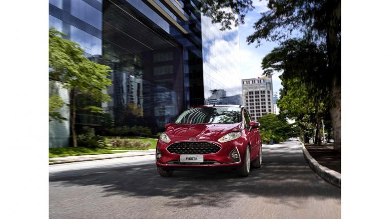 El Ford New Fiesta tiene una mejora estructural, refuerzos en el techo y barras de protección en las puertas. (Mundo Maipú)