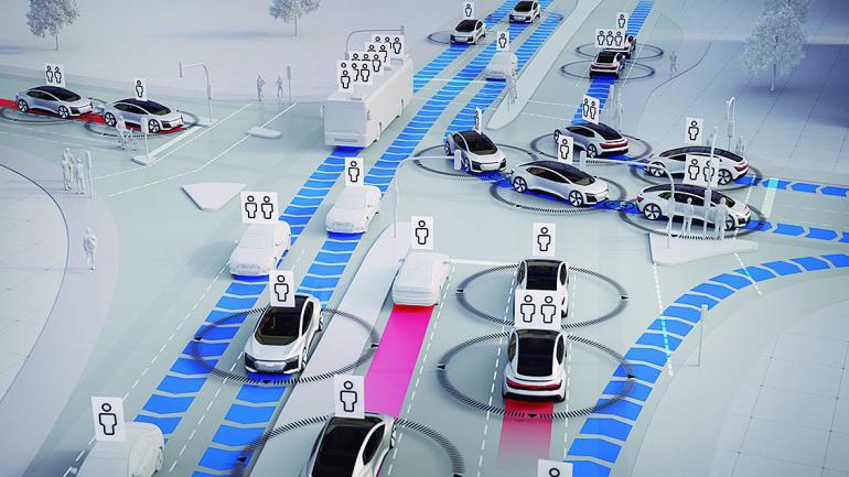 El estudio dio cuenta que la incorporación de vehículos totalmente autónomos. (Mundo Maipú)