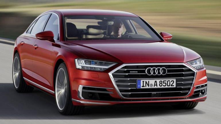 TECNOLOGIA. El nuevo Audi A8 presenta las suspensiones neumáticas activas y función de estacionamiento autónomo. (Mundo Maipú)