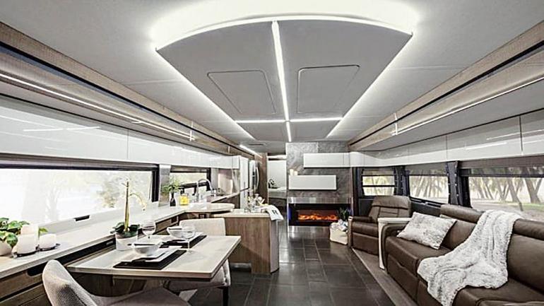 Buen diseño e iluminación y mejor distribución de espacios en el living comedor. (Grupo Edisur)