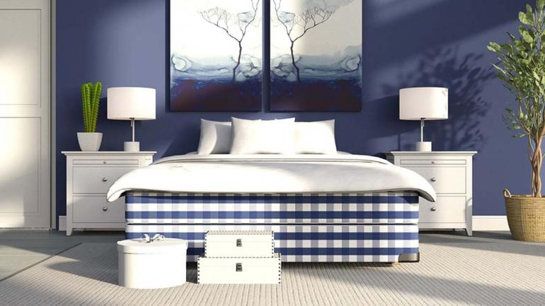Los colores azul y blanco son perfectos para crear ambientes que conjuguen elegancia y tranquilidad en un solo lugar. (Grupo Edisur)