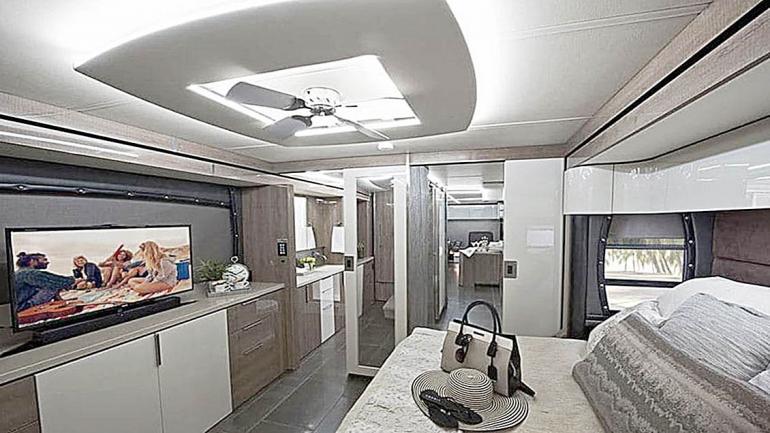 Dormitorio a nivel de los hoteles más comodos y lujosos. (Grupo Edisur)