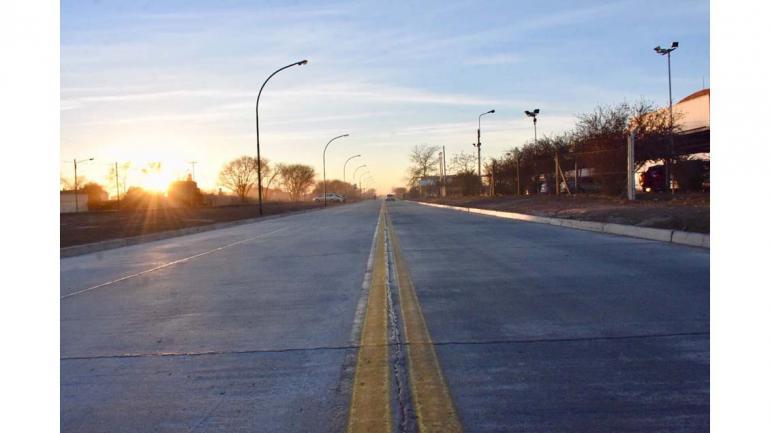 Finalización de la obra de avenida Donosa que conecta con la avenida de Circunvalación. (Grupo Edisur)