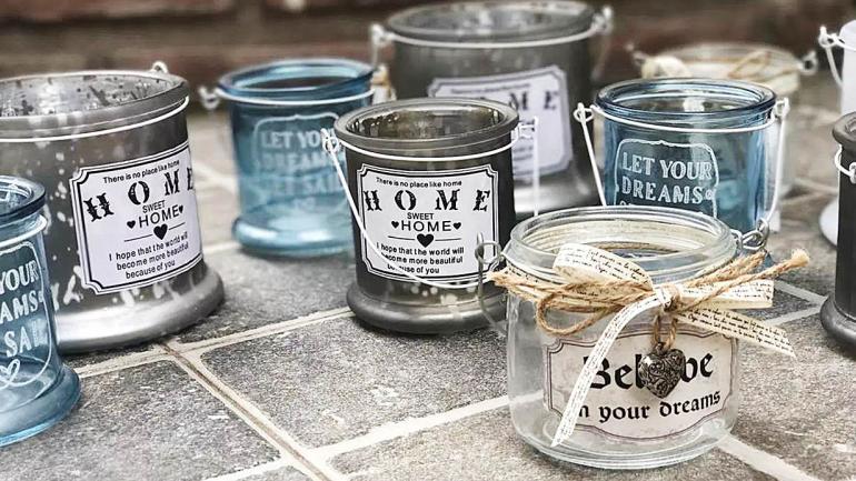 Se pueden lograr excelente resultado utilizando los frascos como souvenir o centro de mesa. (Grupo Edisur)