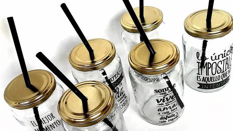 Usarlos como vasos es una alternativa para nuestra mesa. (Grupo Edisur)
