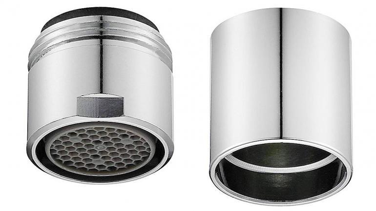 Los perlizadores generan hasta un 50% de ahorro de agua y no afectan la calidad de la misma. (Aguas Cordobesas)