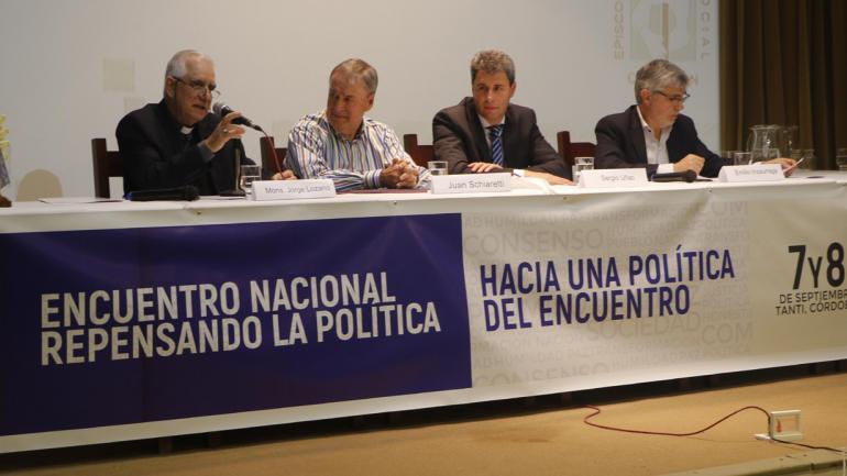 SCHIARETTI. En el panel de la Pastoral Social (Pastoral Social).