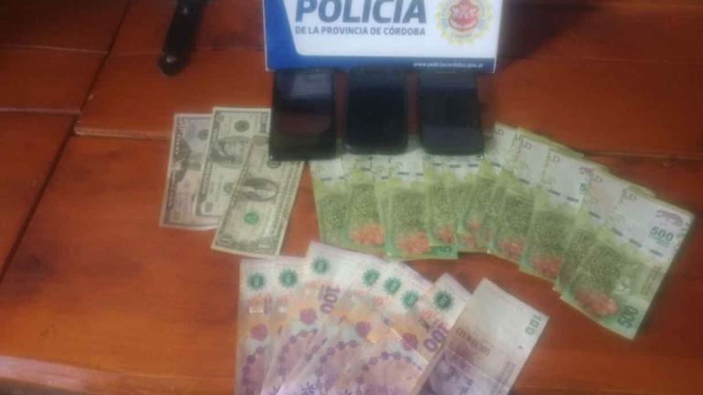 SECUESTRO. De elementos (Policía de Córdoba).