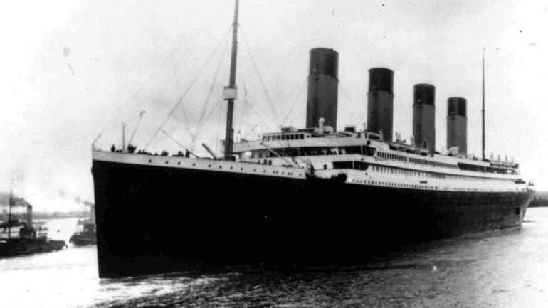 TITANIC. Al salir de Southampton, en Inglaterra (AP/Archivo).