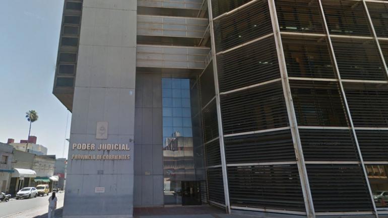 PODER JUDICIAL. De Corrientes (Captura/©Google Street View).