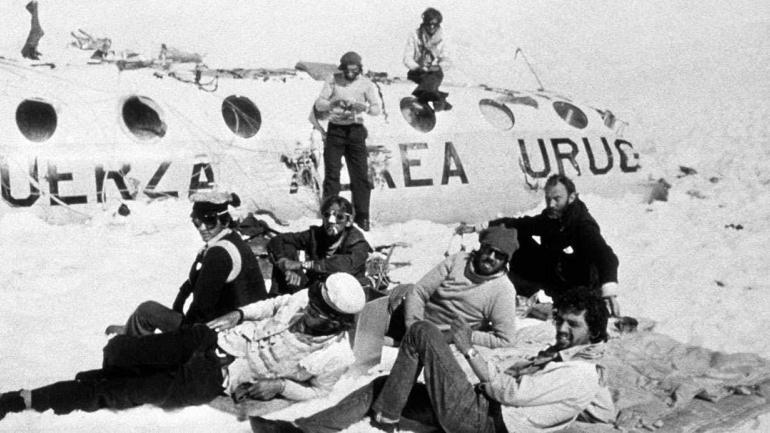 Una foto histórica en la tragedia de Los Andes