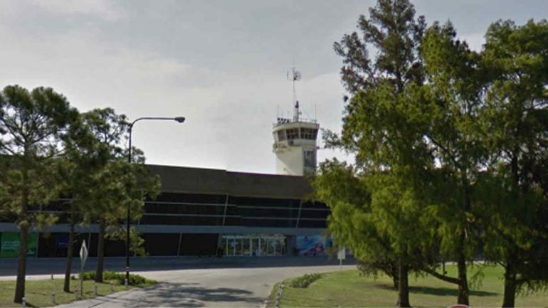 AEROPUERTO. De Rosario (Captura/©Google Street View).