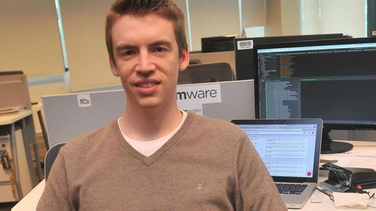 Facundo Gaich. Estudió Ciencias de la Computación en Famaf. Actualmente trabaja en Mercado Libre. (Sergio Cejas)
