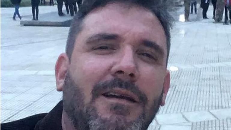 Juan Manuel Illescas, el periodista detenido (La Nación).