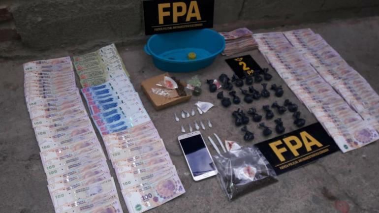 Elementos secuestrados (FPA).