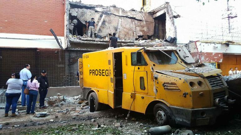El ataque a Prosegur, en Ciudad del Este, ocurrió el lunes a la madrugada y duró tres horas.