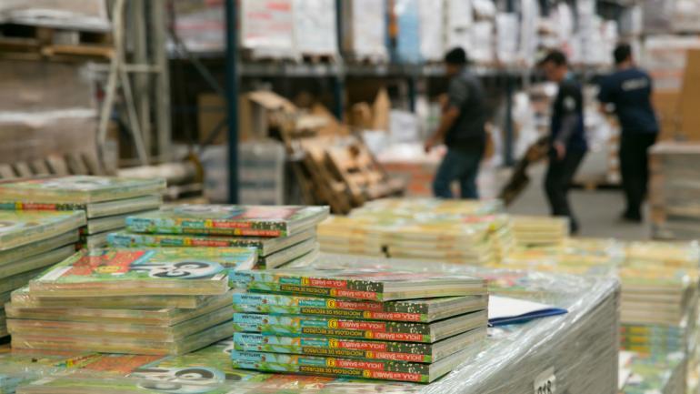 DISTRIBUCIÓN. Además de comprar los libros, la Nación se encargará del reparto. (Gentileza Ministerio de Educación de la Nación)