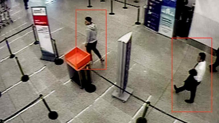 FOTO. En el aeropuerto (Télam).