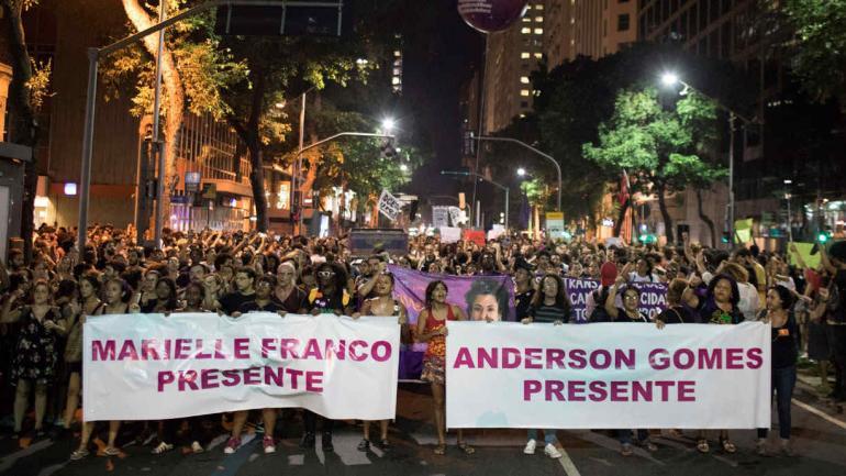PROTESTA. En Río de Janeiro (AP).