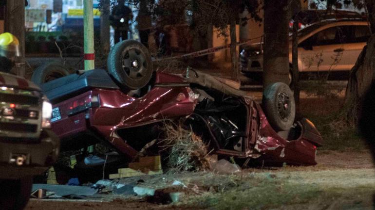 Entre la noche y la madrugada se registró el 47 por ciento de las colisiones fatales. (La Voz / Archivo)