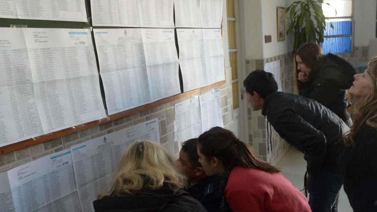 101.236 nuevos electores. El aumento del padrón electoral en Córdoba entre 2015 y 2017 es del 3,64 por ciento, con muchas diferencias entre las distintas zonas (La Voz / Archivo)