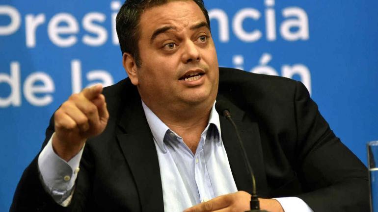TRIACA. Ministro de Trabajo (DyN/Archivo).