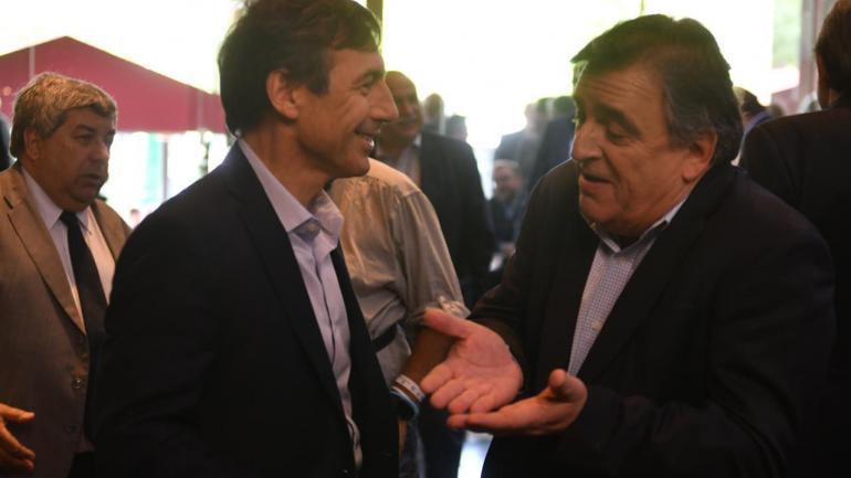 CUMBRE DE LA UCR. Negri, en el encuentro (La Voz/Federico López Claro).
