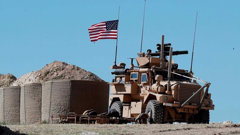 A la espera de la orden. Tropas de Estados Unidos están asentadas en el norte de Siria.