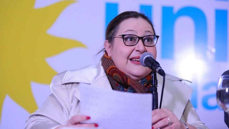 GRACIANA PEÑAFORT. Abogada de Cristina Fernández (Foto diario Clarín).