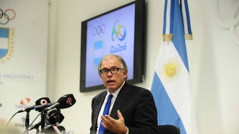 DENUNCIANTE. Gerardo Werthein, presidente del Comite Olimpico Argentino, quien hizo la denuncia ante el fiscal Marijuan (Foto diario Clarín).