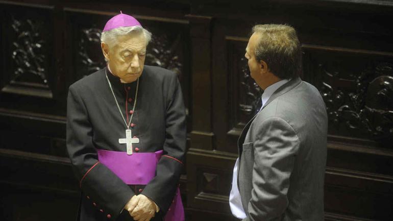 POLÉMICO. El arzobispo de La Plata (Archivo).