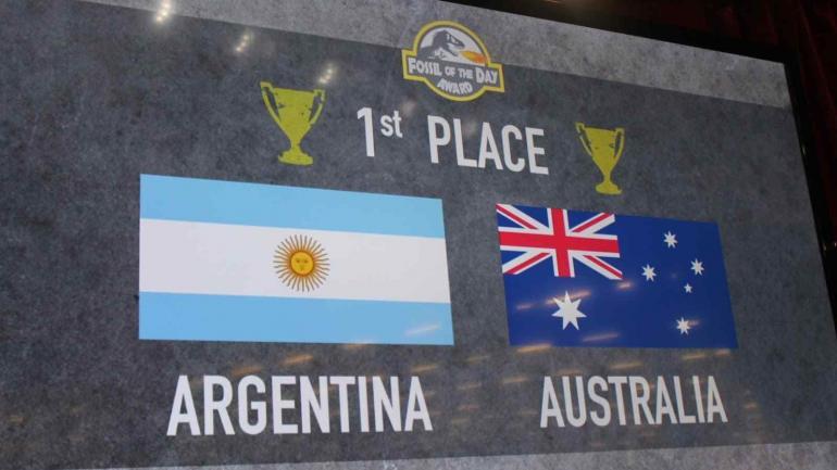 COMPARTIDO. El primer lugar fue compartido con Australia. (CAN)