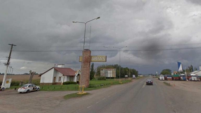 ARIAS. La localidad donde sucedió el hecho (Captura Google Street View).