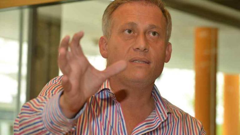 ESTEBAN AVILÉS. El intendente de Carlos Paz (La Voz/Archivo).