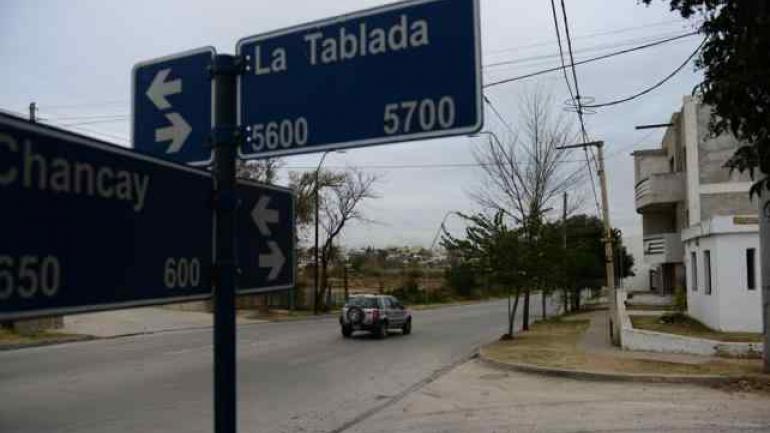 BARRIO QUEBRADA DE LAS ROSAS. Donde ocurrió el hecho (La Voz/Archivo).
