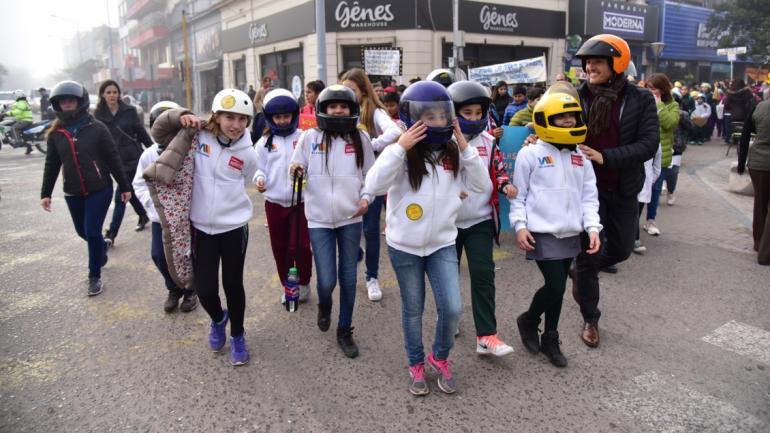 Esta acción forma parte de las actividades impulsadas por los chicos del Gabinete. (Municipalidad de Villa María)