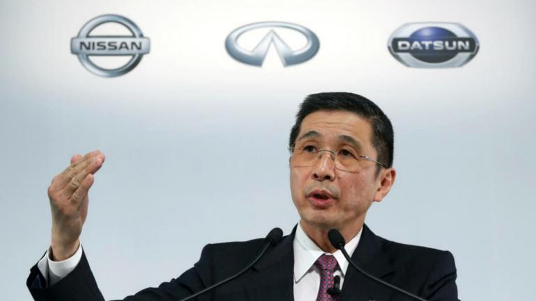VISITA. Hiroto Saikawa, CEO global de Nissan estará en Córdoba. (ELUNIVERSAL.COM.MX)