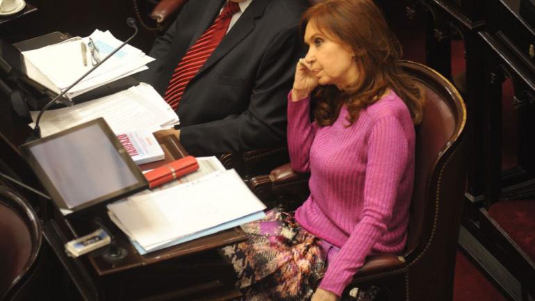 Cristina Fernández de Kirchner. (Federico López Claro).
