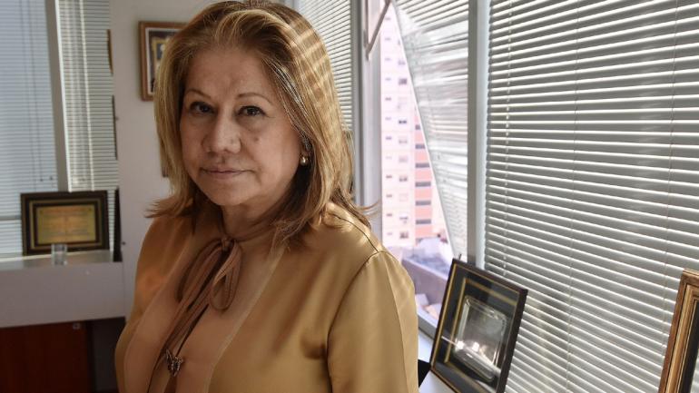 BUENOS AIRES. Graciela Camaño, presidenta del bloque de Diputados del Frente Renovador (La Voz/Archivo).